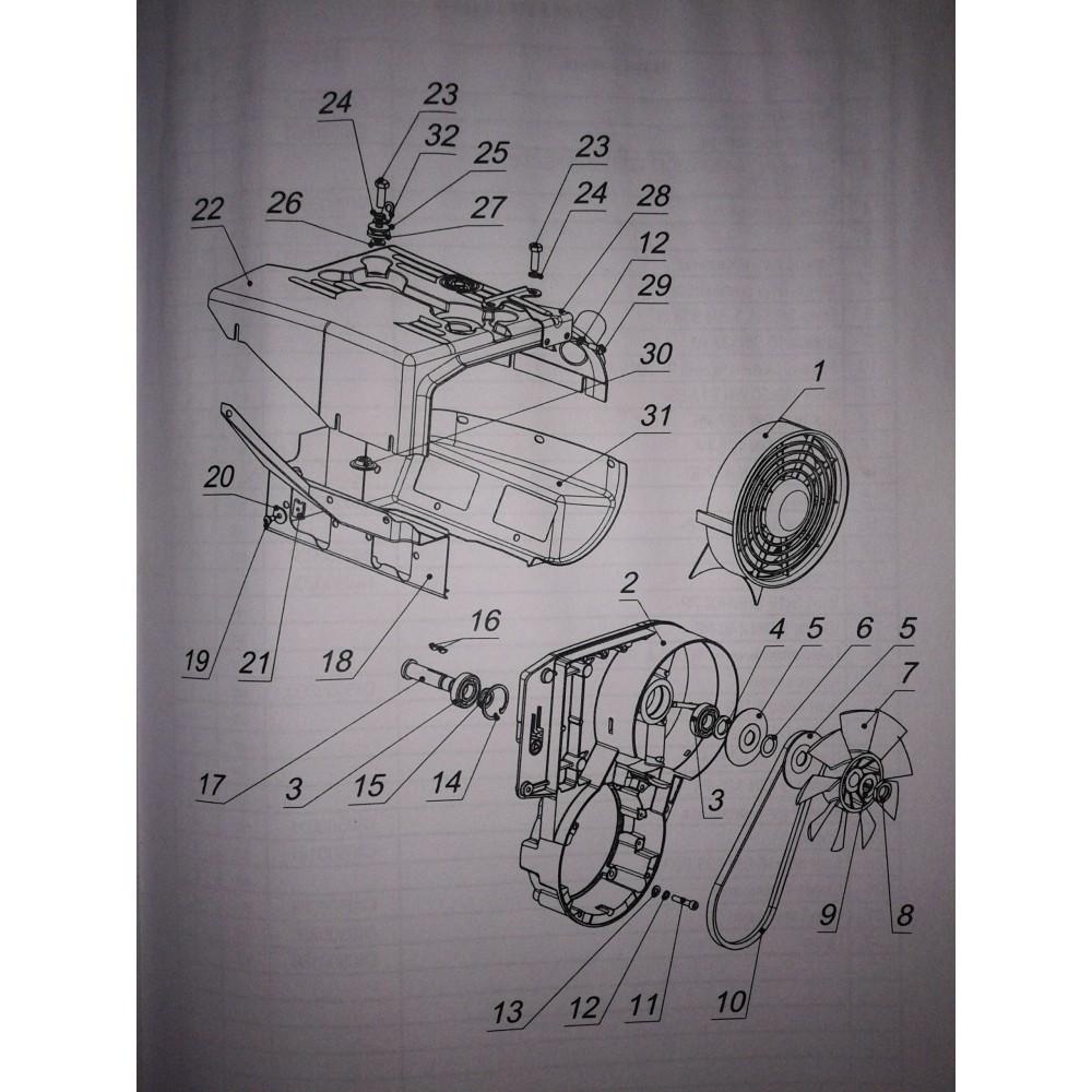 Корпус вентилятора С40500038