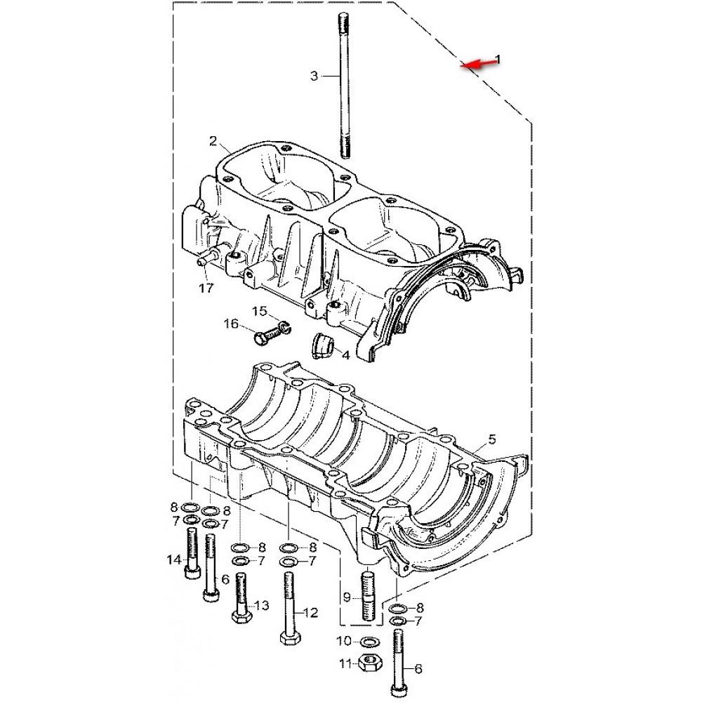 Картер С40500080 /ТАЙГА 500