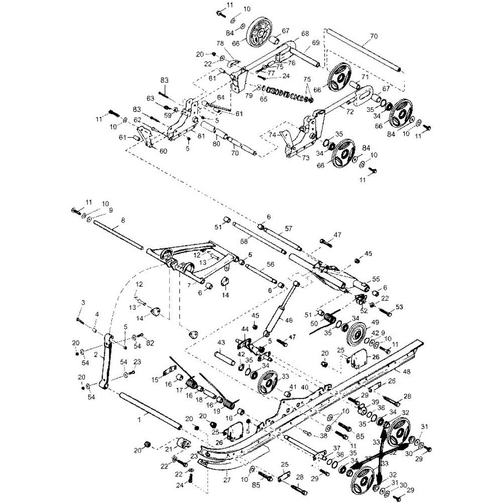 Втулка катка С40200256