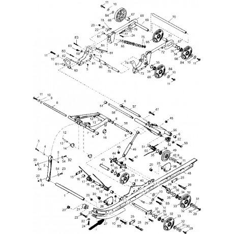 Накладка рельса направляющего С40200503