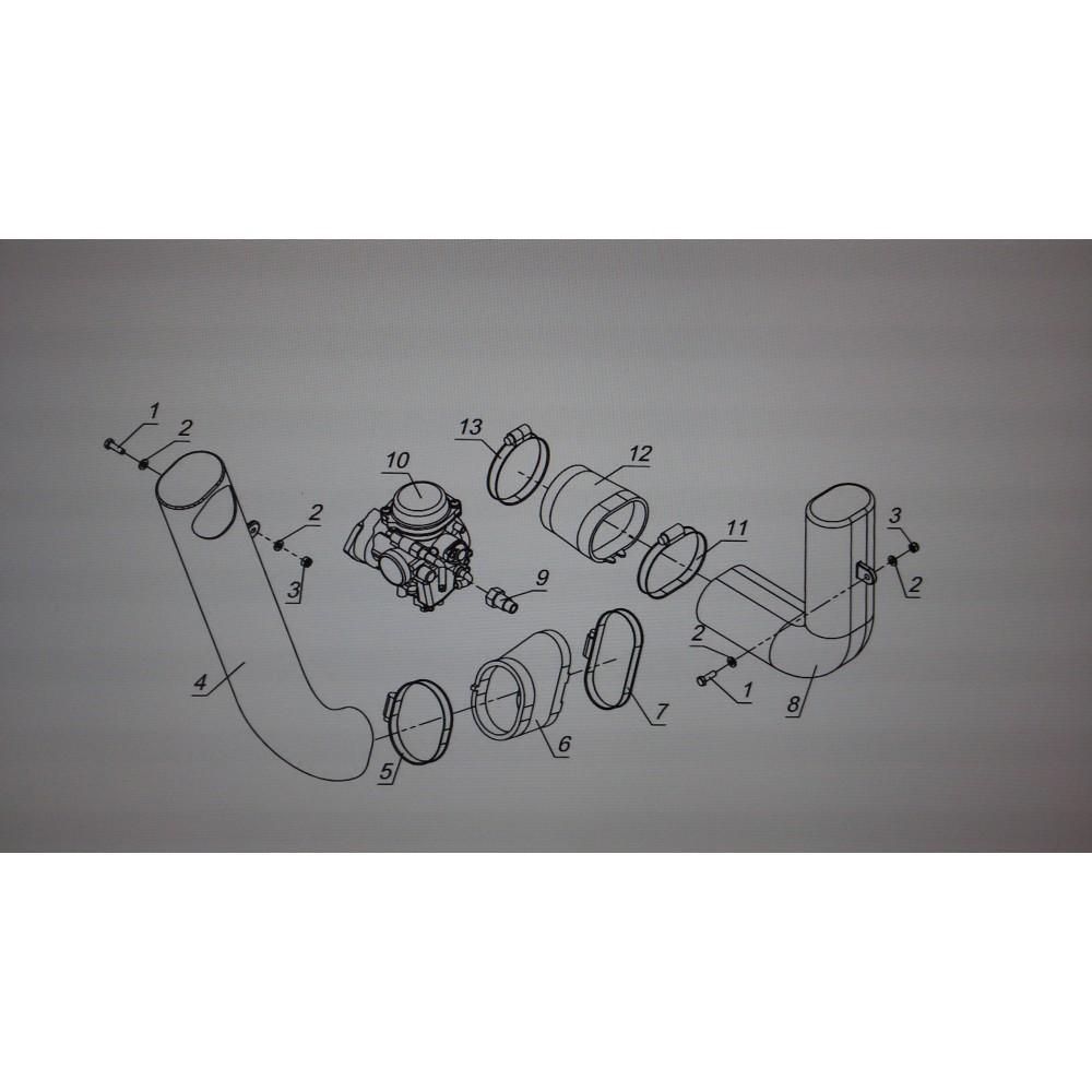 Воздуховод V10700032
