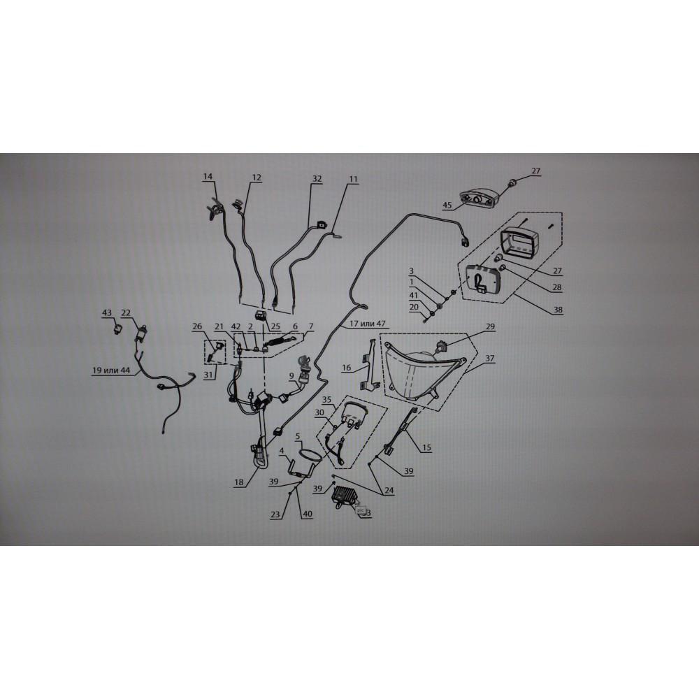 Жгут фонаря заднего L11100270