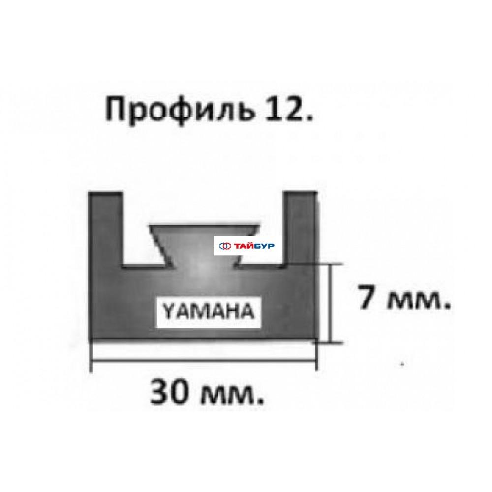 Накладка рельса (склиз) №12-54.72-1-01-01 для Ямахи (Браво) и Рысь