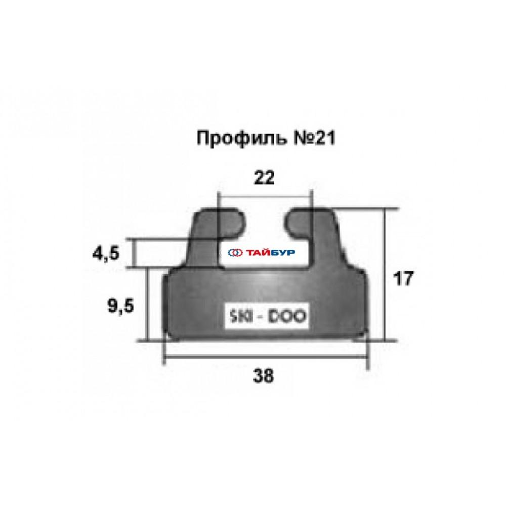 Накладка рельса (склиз) №21-59.00-1-01-01 для BRP