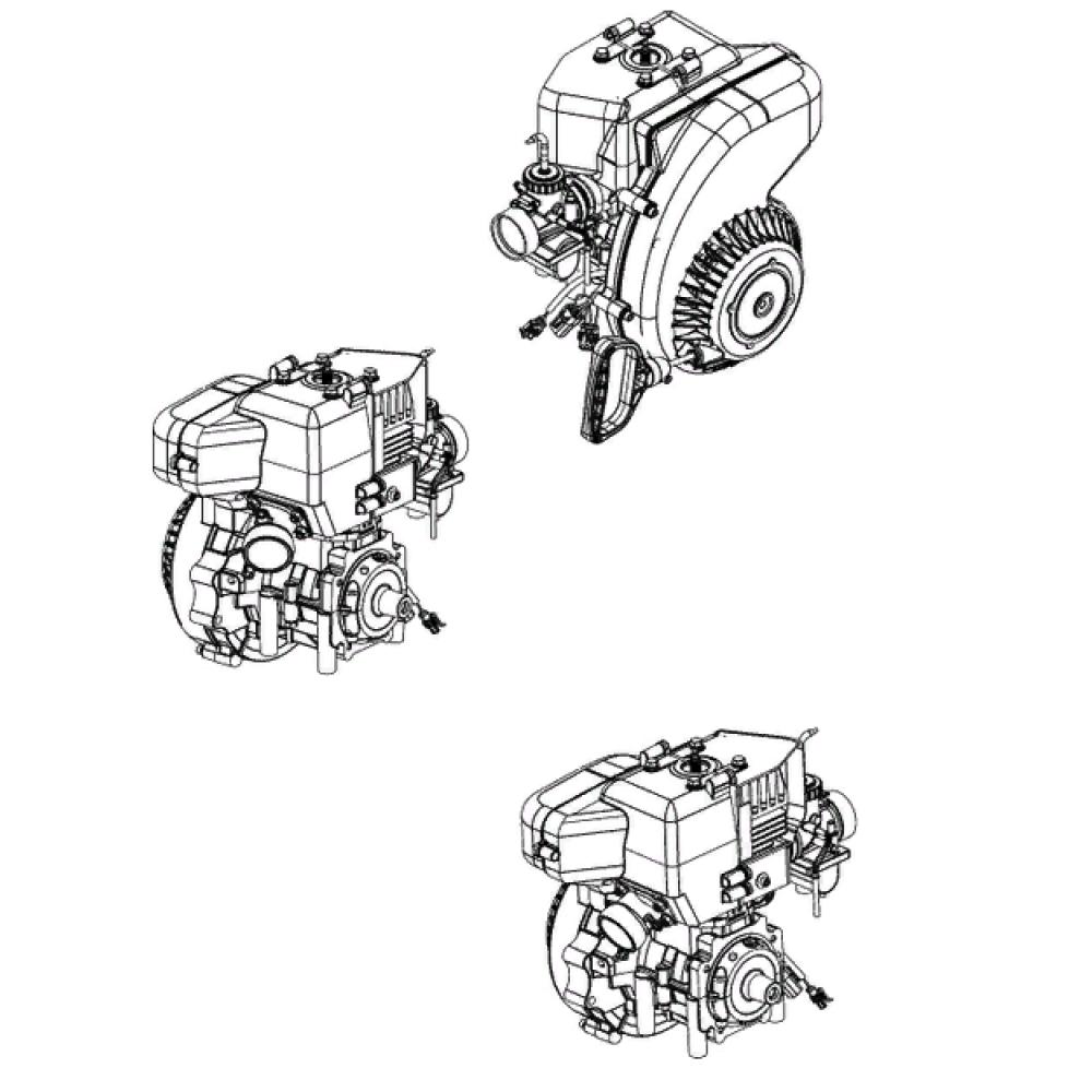 Двигатель РМЗ-250 K90500250 / Тикси
