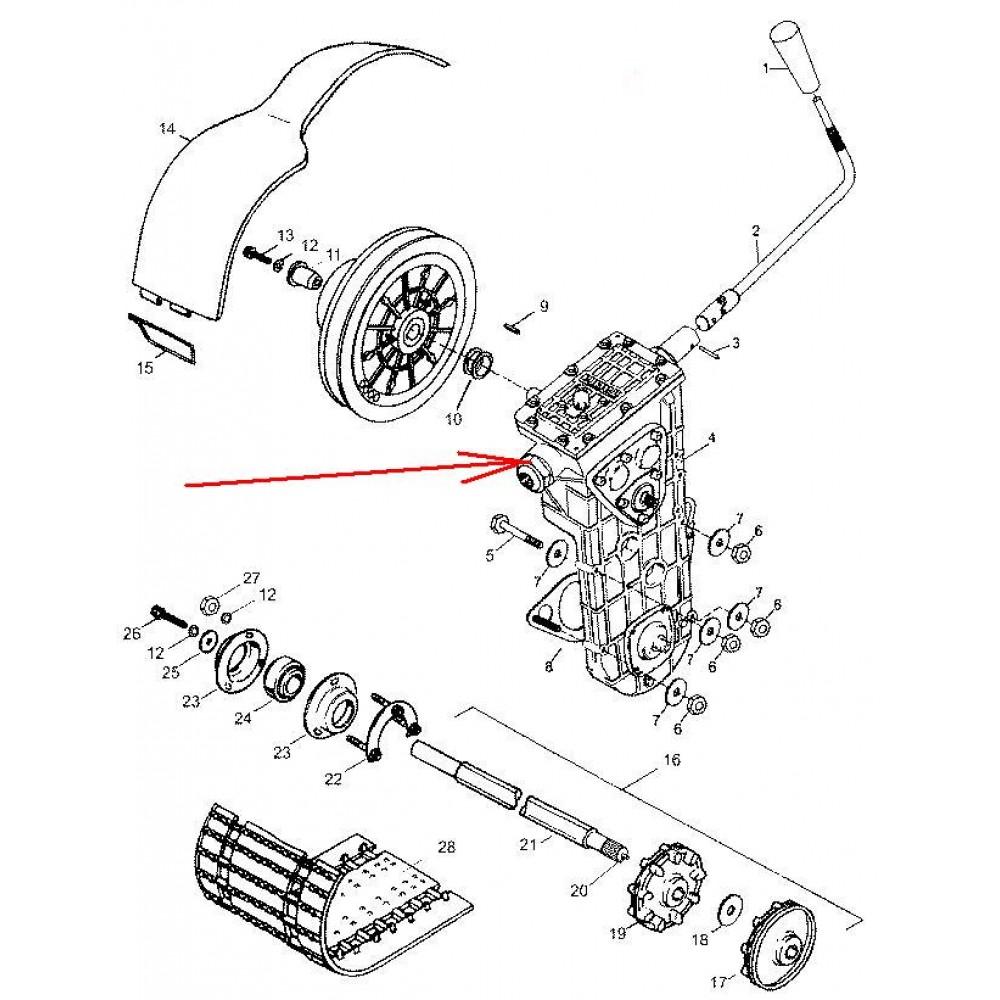 Коробка передач L30601100-01 для с/х Тайга СТ-500Д и Атака