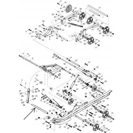 Связь подвески ходовой С40200513