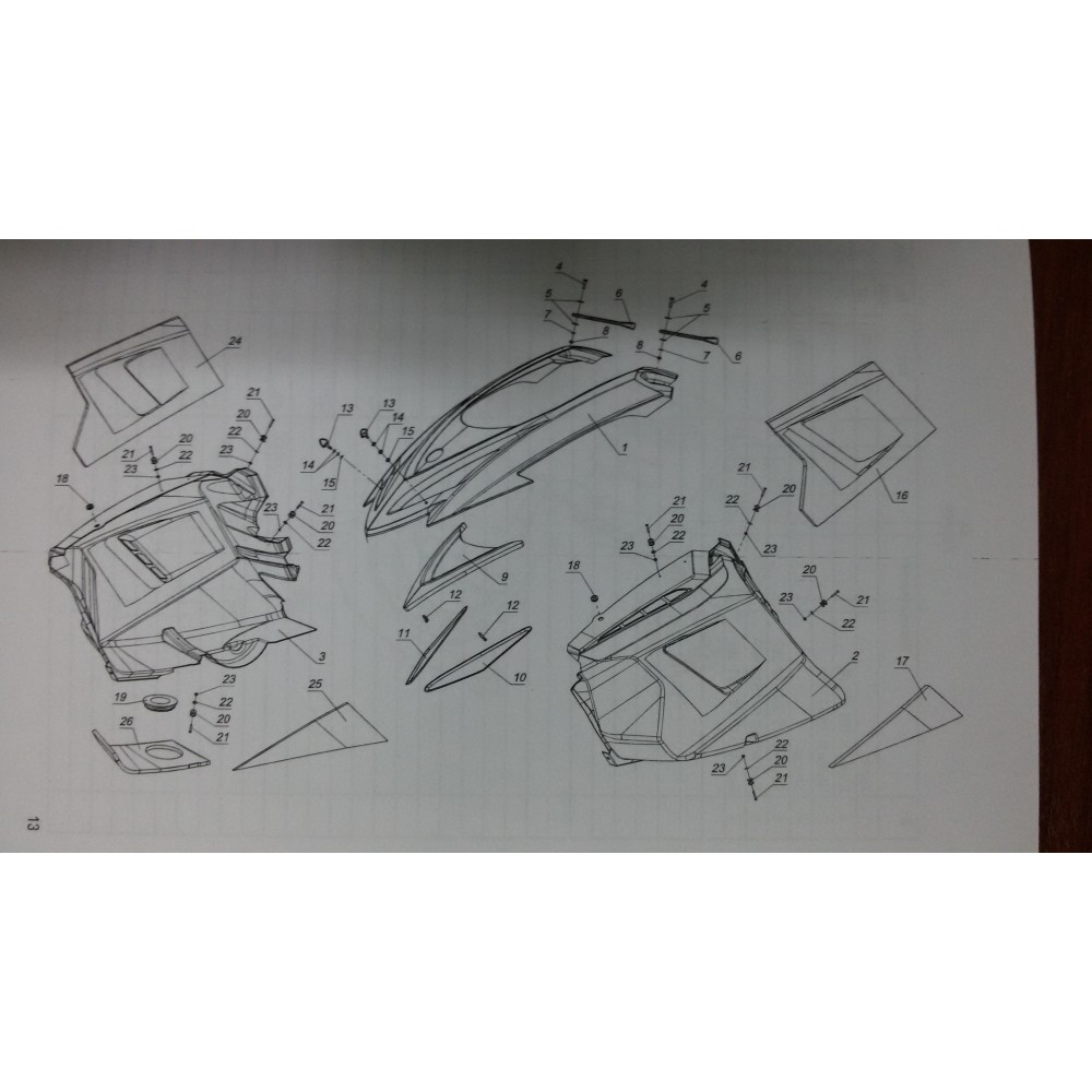 Боковина левая L10100342