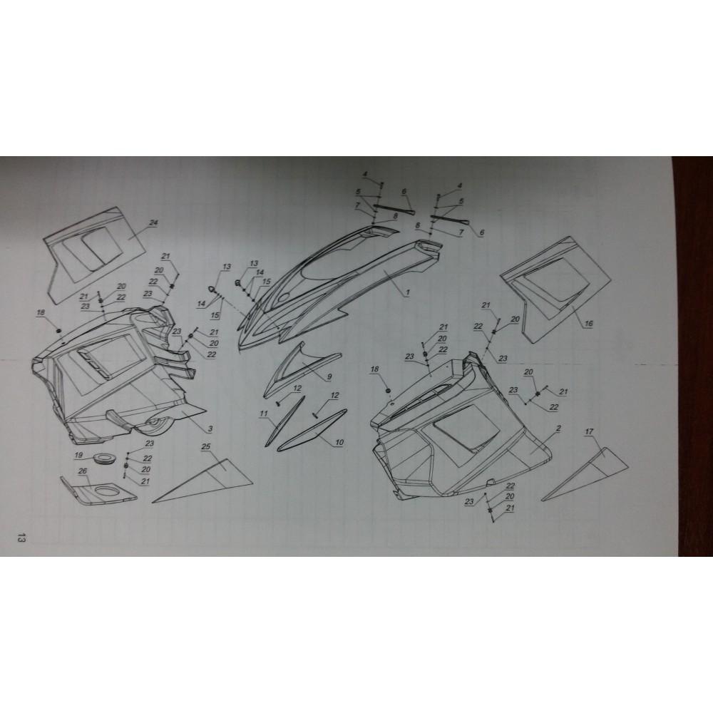 Боковина правая L10100341