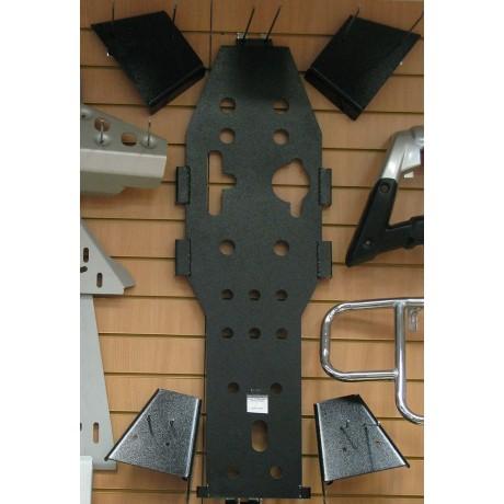 Защита ATV600 днища и рычагов черная 6523blk
