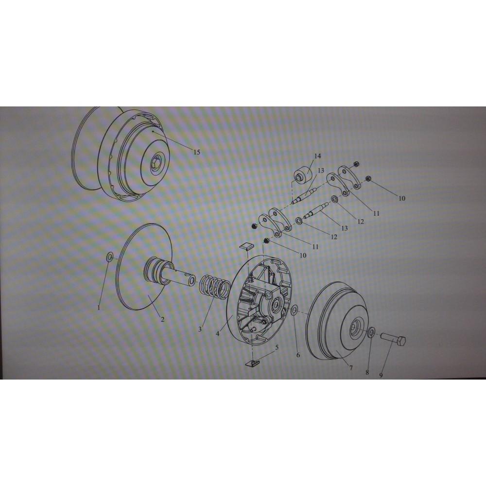Регулятор центробежный 110602800 (Вариатор Буран)