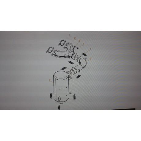 Пружина глушителя С40400029