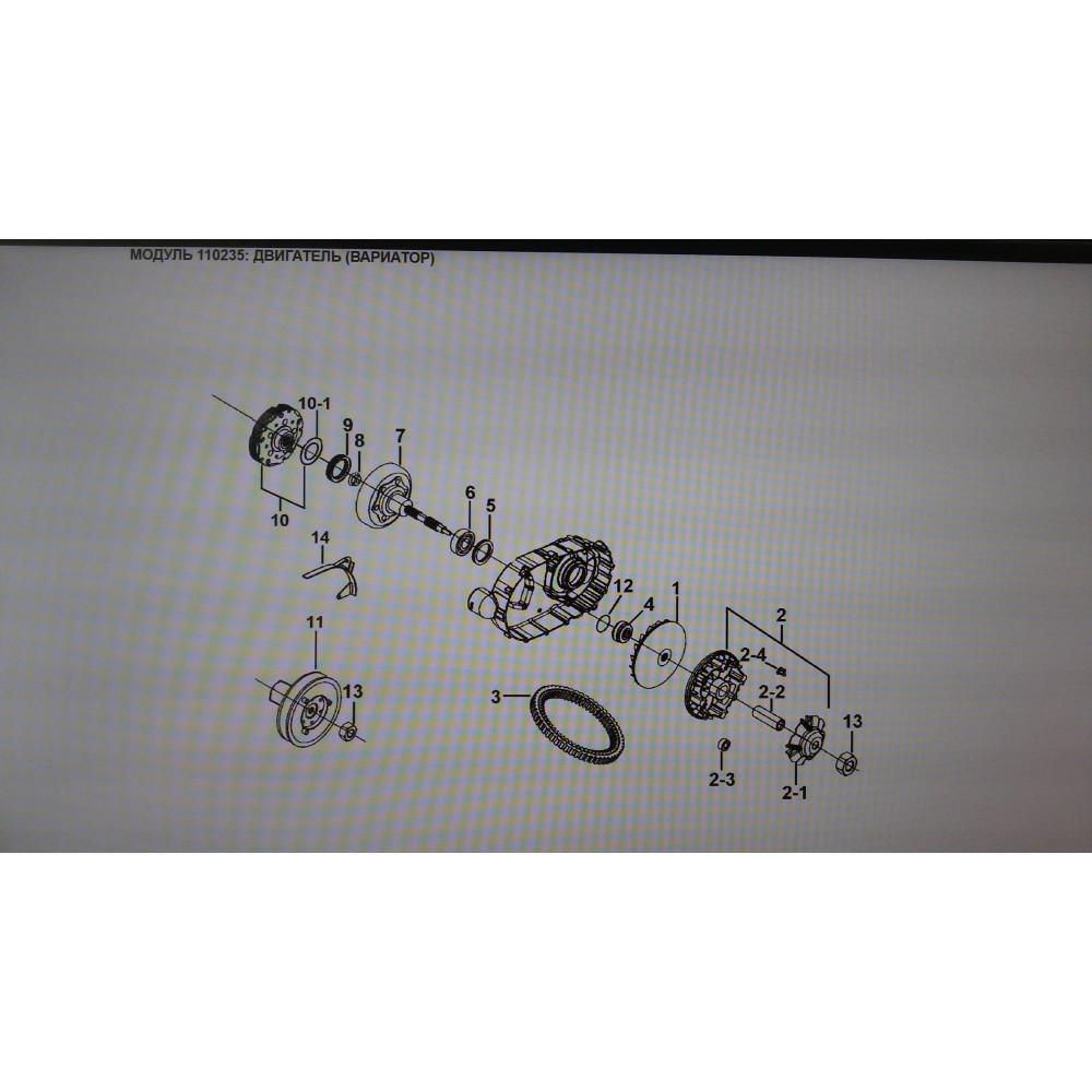 Муфта сцепления D9900072