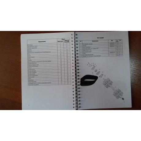 Руководство по ремонту + Каталог деталей и сборочных единиц Тайга 550 SE, 550 SWT