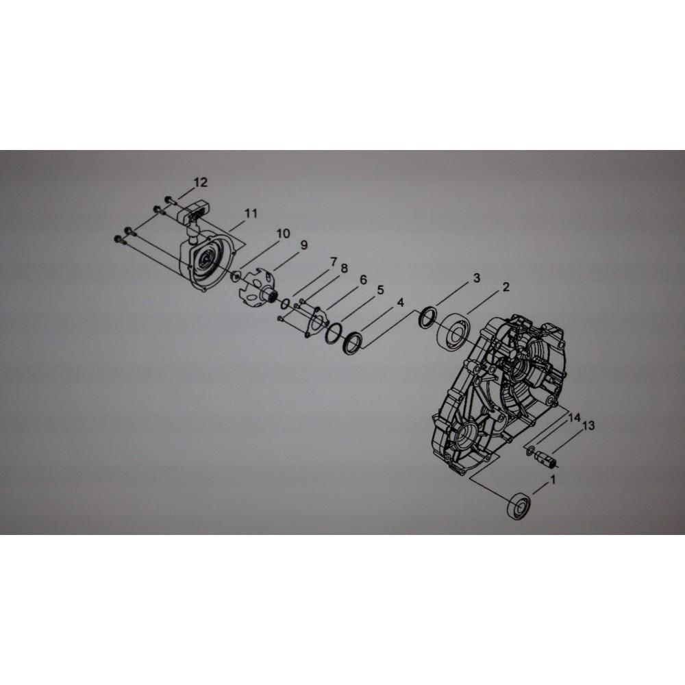Кольцо уплотнительное ф2.5Xф43.5 924071