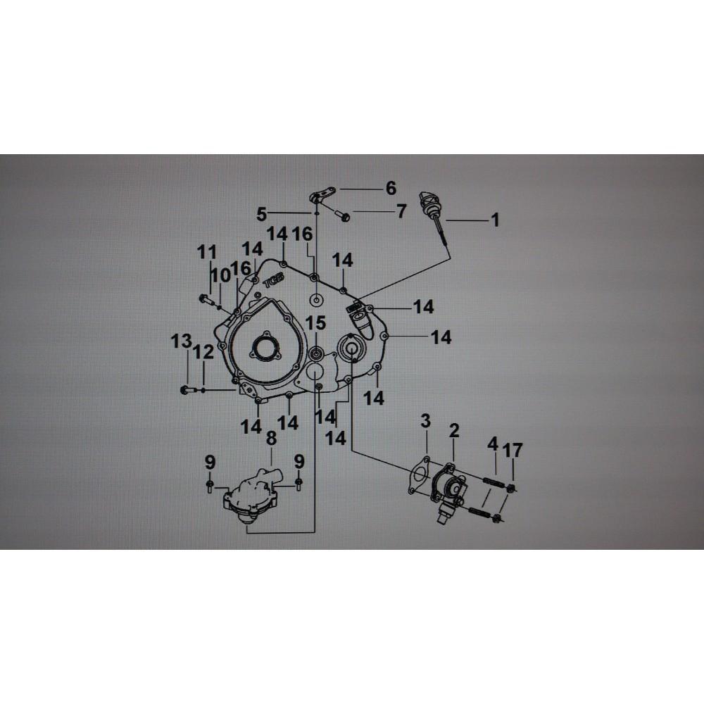 Прокладка механизма привода спидометра 924197
