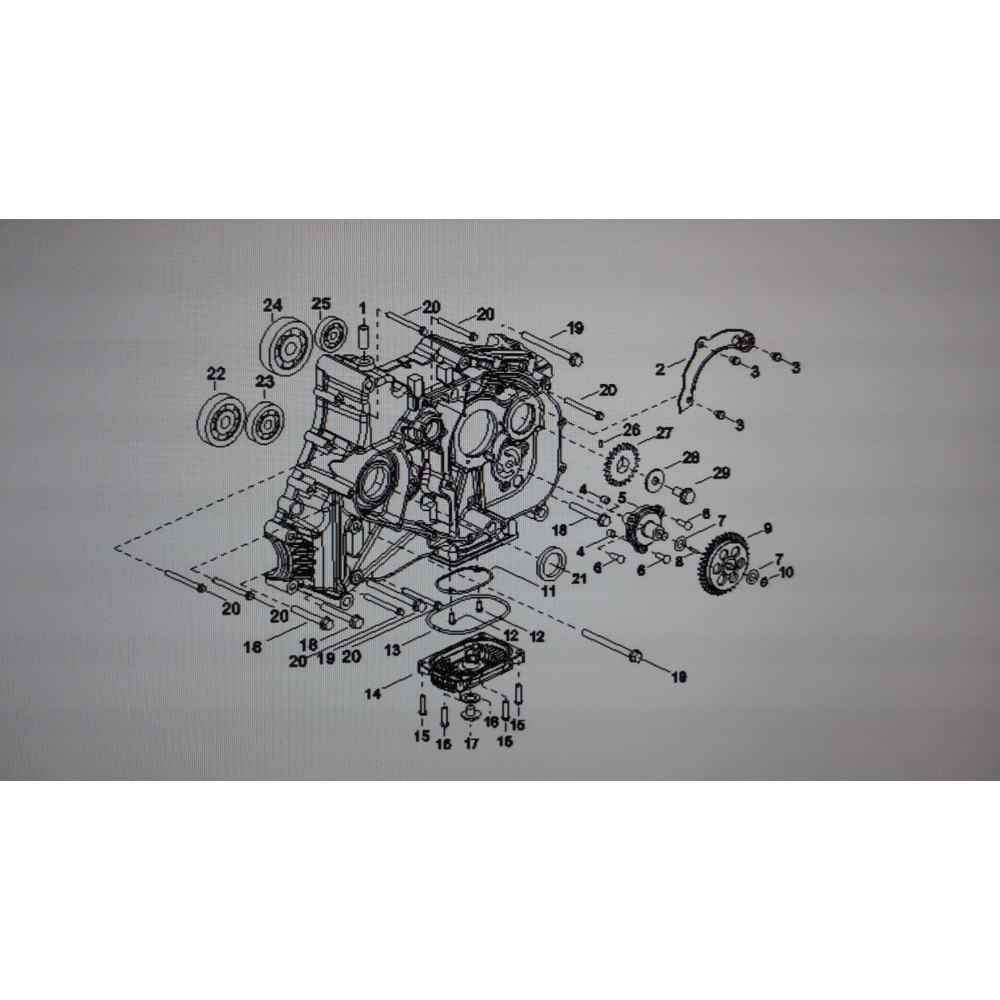 Шестерня ведомая D9900065