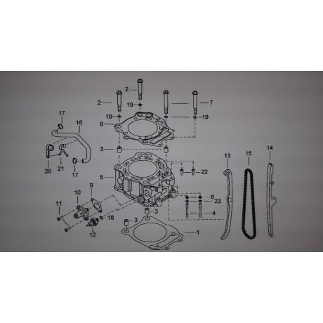 Прокладка головки цилиндра D9900012
