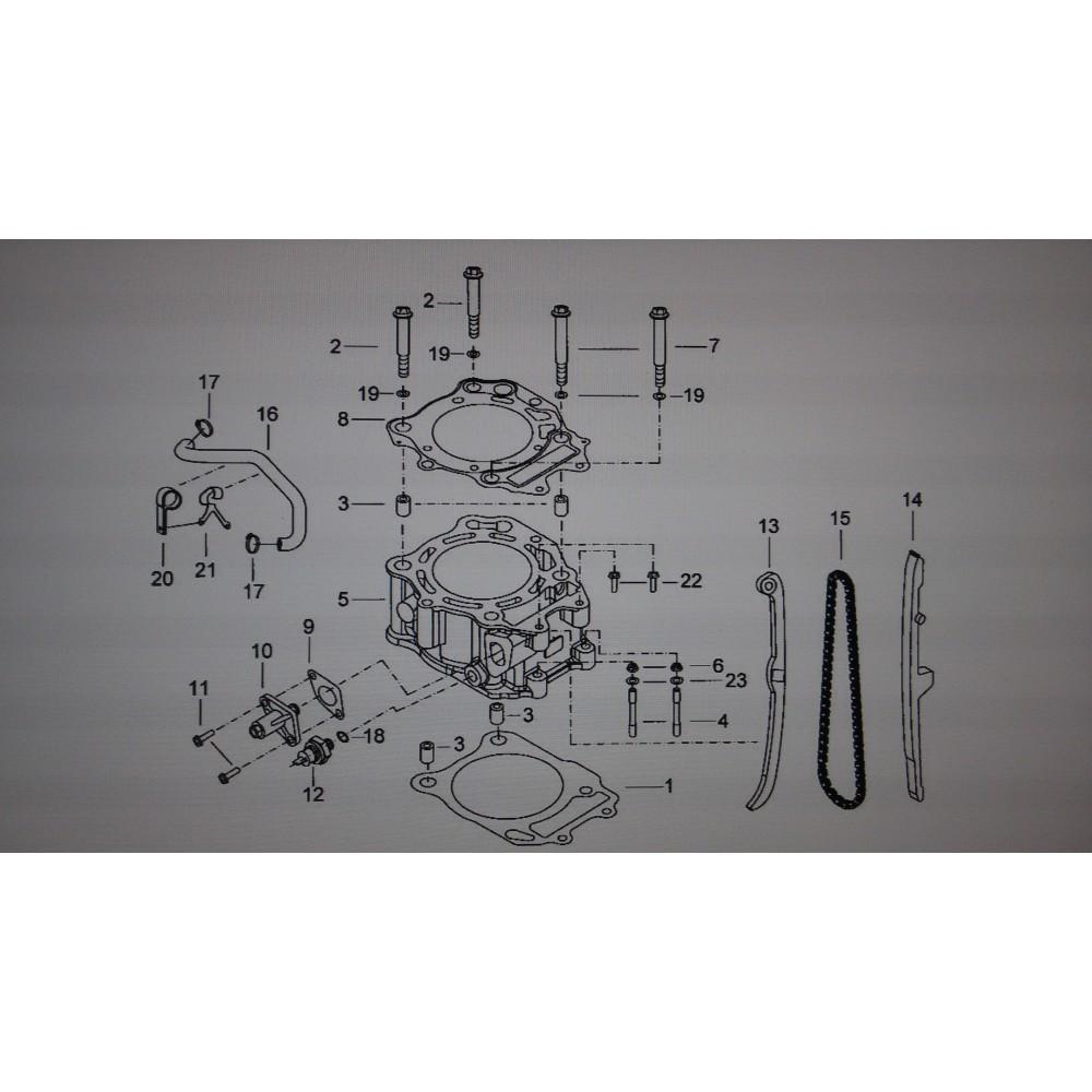 Натяжное устройство цепи 924014