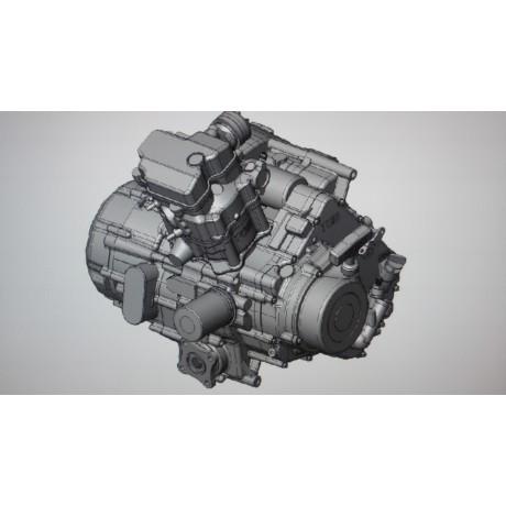 Двигатель 500 см3 в сборе TBG520101S