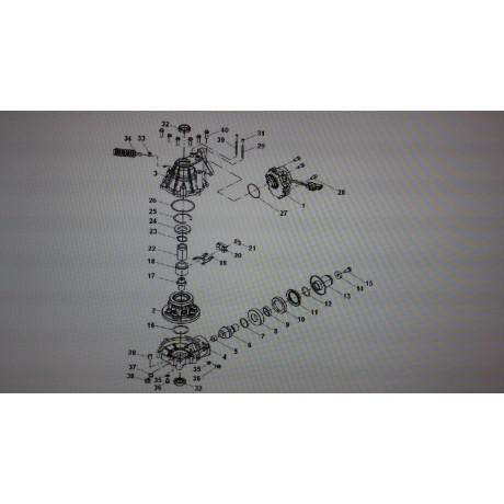 Подшипник 1612 S-001-00AC-B0
