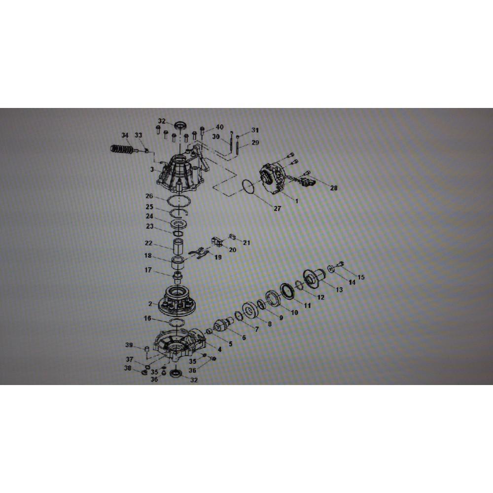 Крышка со втулкой A-I24-9400-A0