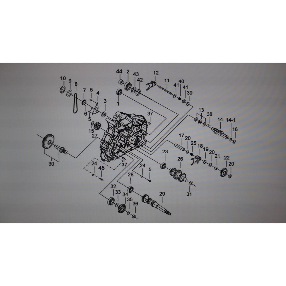 Шестерня промежуточная(28Т)925052