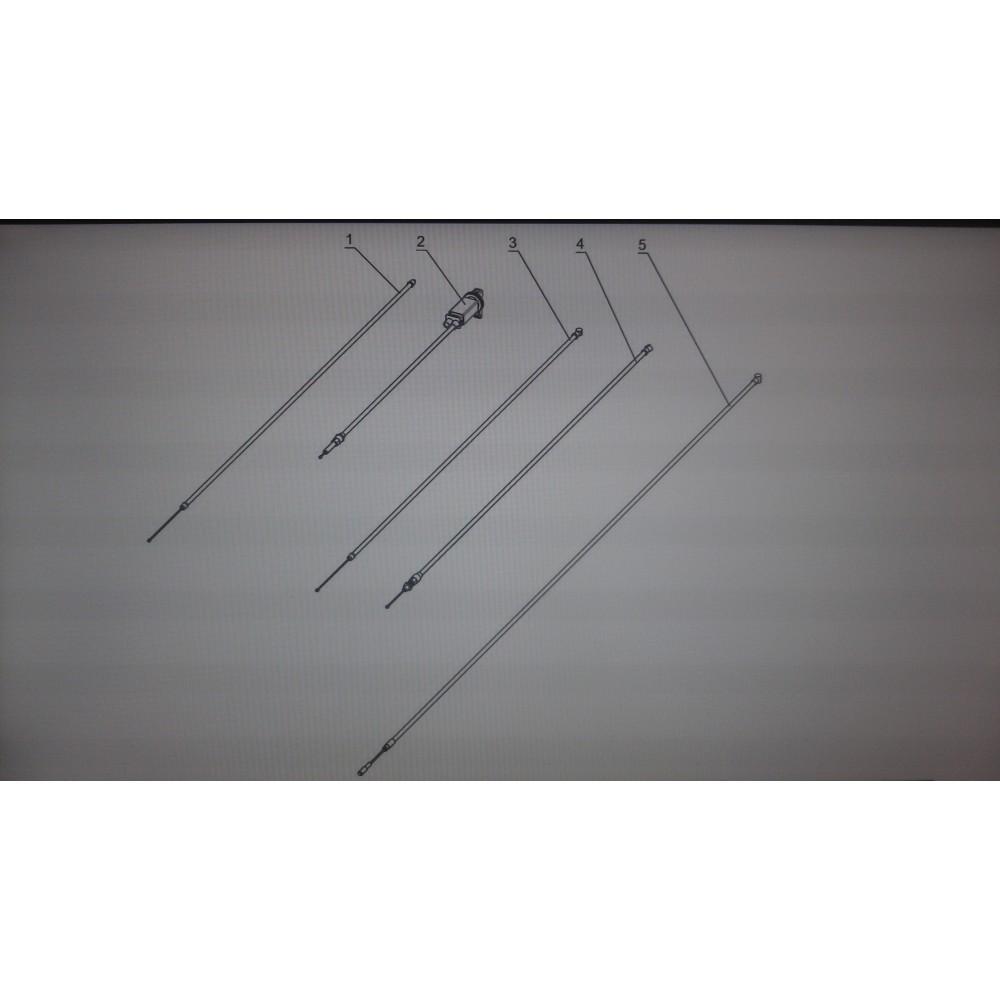Трос тормоза 110603610/Буран А, АД, 4Т, 4ТД