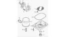 Насос масляный с фильтром (двигатель), РМ500-2