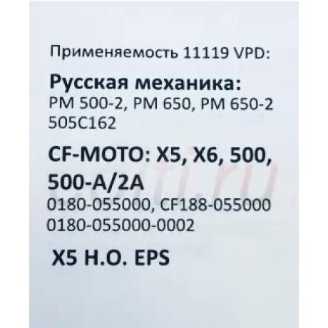 Ремень вариатора OPTIBELT 11119