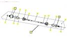 Шрус задний левый РМ650-2