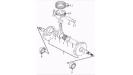 Поршень, шатун и коленчатый вал (двигатель)