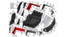 Пластик задняя часть/UTV800