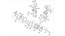 Головка цилиндра двигателя Kohler ЕCH 740-3201/4Т
