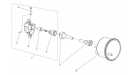 Привод спидометра для коробки реверса/4Т