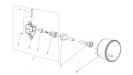 Привод спидометра для коробки реверса /Лидер/