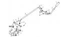 Привод управления коробкой передач 110605000/4Т