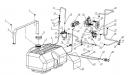 Система питания с карбюратором К-65Ж/2Т