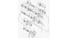 Главный и промежуточный валы (двигатель)