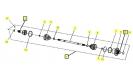 ШРУС задний правый РМ650-2
