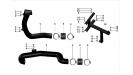 Воздуховоды вариатора UTV800